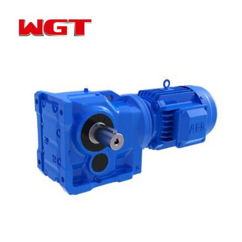 K77 / KA77 / KF77 / KAF77 helical gear quenching reducer (without motor)