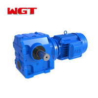 SA47 / SAF47 / SAZ47 ... Helical gear worm gear reducer (without motor)