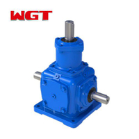 T type spiral bevel gear reduction ratio 5-1 gearbox for game machine T2-T25