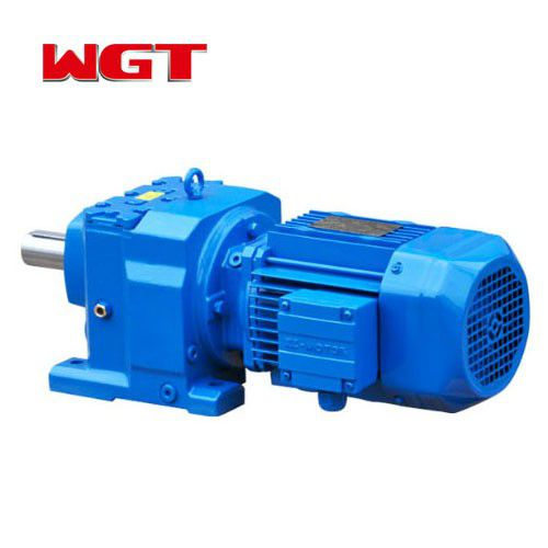 R87 / RF87 / RS87 / RF87 helical gear quenching reducer (without motor)