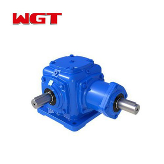 T series elevator spiral bevel gear steering gear box reducer-T2-25